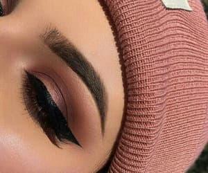 beautiful, beauty, and make up image