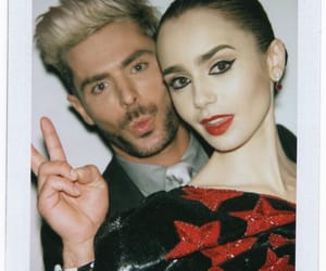 lily collins and zac efron image