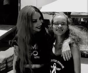 vans warped tour, ash costello, and new years day image