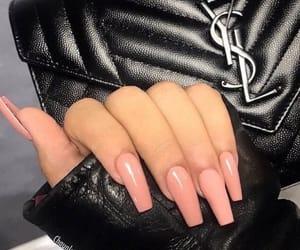 nails, bag, and YSL image