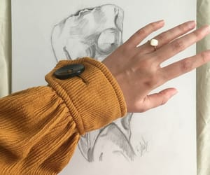 fashion, hands, and jacket image