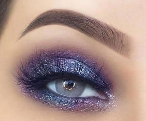 elegant, eye, and makeup image