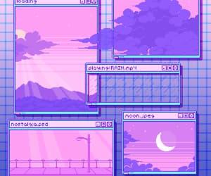 aesthetic, overlay, and pixelart image