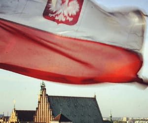 flag and Poland image