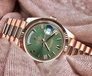 fashion, rolex, and watch image