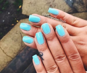 blue, gelato, and nails image