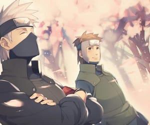 naruto, kakashi hatake, and yamato image