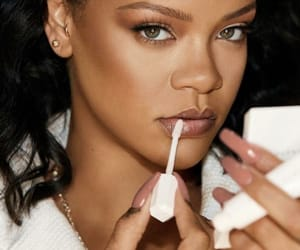beauty, make-up, and rihanna image
