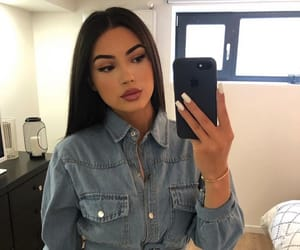 makeup make up, postbad post bad, and outfit clothes chic image