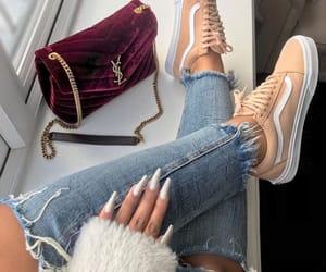 fashion, vans, and nails image