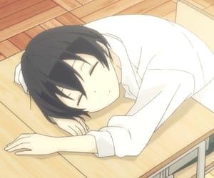 anime, tanaka, and boy image