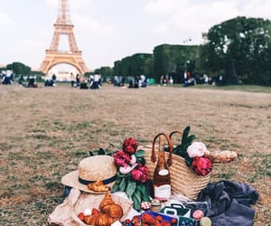 paris and picnic image