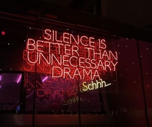 neon, quotes, and drama image