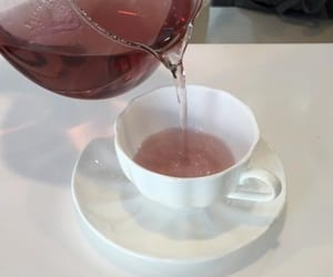 tea, pink, and aesthetic image