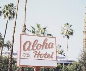 summer, Aloha, and hotel image