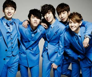2am, blue, and kpop image