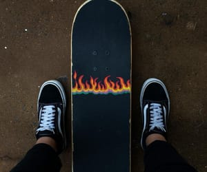 skate, style, and vans image
