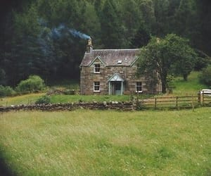 cottage, countryside, and sweet image