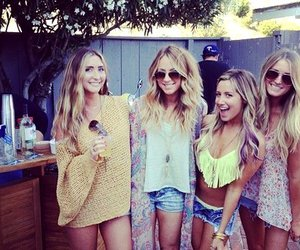best friends, girls, and blond image