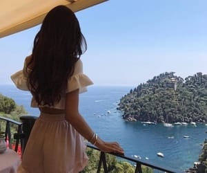 girl, beauty, and travel image