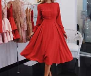 dress, robe, and fashion image