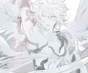 anime, boy, and fallen angel image