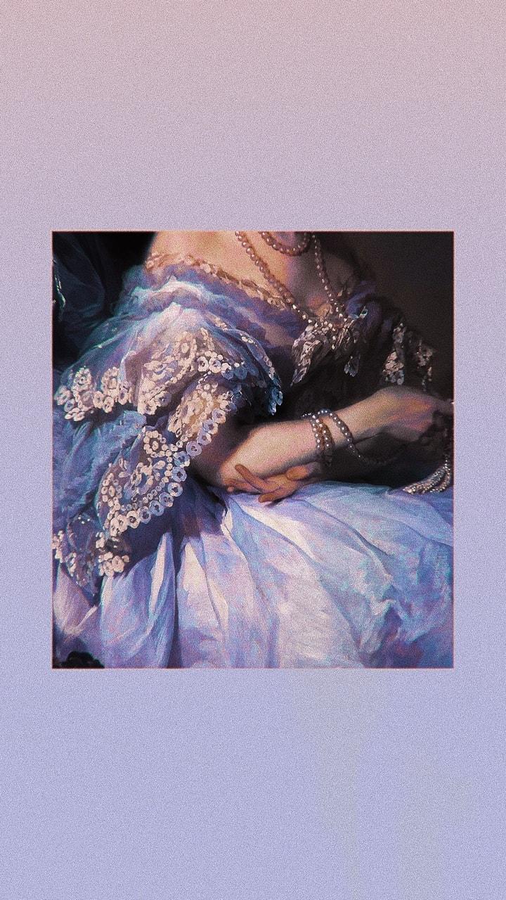 Purple Renaissance Wallpaper Made By Me On We Heart It
