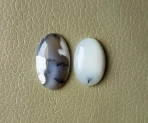 etsy, faceted beads, and opal cabochon image