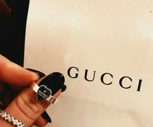 accessories, gucci, and nails image