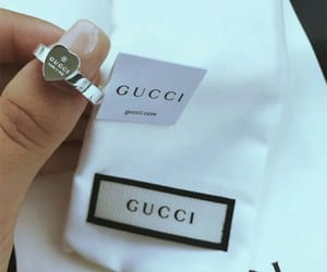 gucci, fashion, and ring image