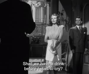cry, drink, and Gilda image