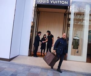 Louis Vuitton, rich, and styles image