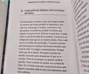 book, corazón roto, and reflexión image