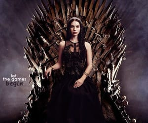 black dress, reign, and queen of scotland image