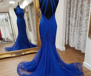 blue, dresses, and Prom image