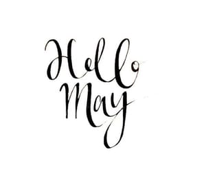 may, month, and hello image