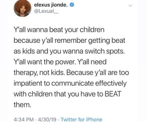 child abuse, parenting, and tweet image