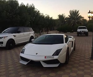 car, white, and luxury image