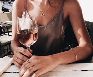 clothes, tumblr, and wine image