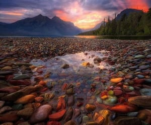agua, colores, and paisaje image