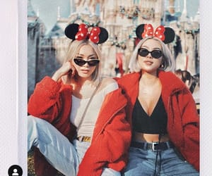 beauty, disney, and red jacket image