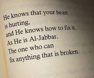 allah, broken, and faith image
