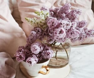 bouquet, lilac, and bouquet of flowers image