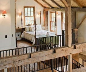 barn, bed, and bedroom image