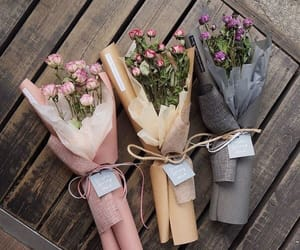 beauty, love, and bouquets image