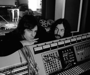 nick mason, Pink Floyd, and richard wright image