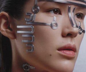 beauty, cyberpunk, and fashion image
