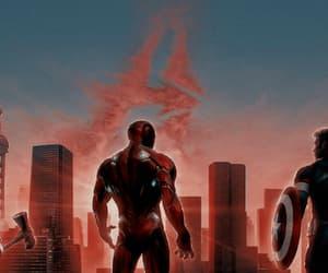 Avengers, stark, and thor image