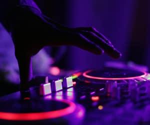 dj and music image
