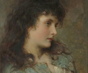 antique, art, and feminine image